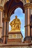Prinz Albert Memorial in London - Großbritannien Stockbild