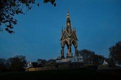 Prinz Albert Memorial in London - Großbritannien Lizenzfreie Stockbilder