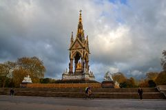 Prinz Albert Memorial in London - Großbritannien Stockfotos