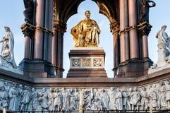 Prinz Albert Memorial Statue in Kencington-Gärten, London Lizenzfreies Stockfoto