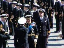 Prinz auf Parade lizenzfreies stockbild