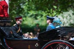 Prinz Charles und Harrys stockfotos
