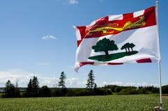 Prinz Edward Island Flag - Kanada stockfoto