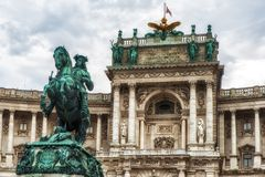Prinz Eugene des Wirsings, Wien lizenzfreie stockbilder