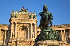 Prinz Eugene Statue Stockbilder