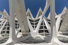 Prinz Felipe Museum, Stadt von Künsten und von Wissenschaften stockfoto