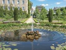 Prinz Georg Garden in Darmstadt lizenzfreie stockfotos