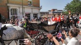 Prinz Harry, Herzog von Sussex und Meghan, Herzogin von Sussex-Urlaub lizenzfreie stockfotos