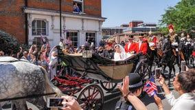 Prinz Harry, Herzog von Sussex und Meghan, Herzogin von Sussex-Urlaub lizenzfreies stockfoto