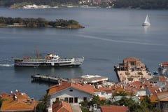 Prinz Islands in der Türkei. lizenzfreie stockfotos