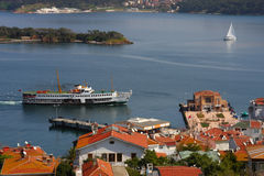 Prinz Islands in der Türkei. lizenzfreies stockfoto
