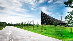 Prinz Mahidol Hall Die großartige Halle als der richtige Ort für das Staffelung ceremon lizenzfreies stockbild