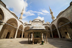 Prinz Mosque Courtyard Lizenzfreies Stockfoto
