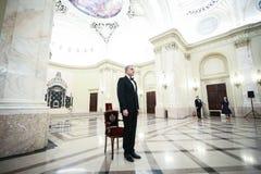 Prinz Radu von Rumänien nimmt an einer Zeremonie teil lizenzfreie stockbilder