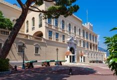 Prinz ` s Palast von Monaco stockfotografie