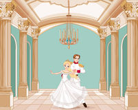 Prinz und Prinzessin Stockfotografie