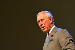 Prinz von Wales-Besuch nach Auckland Neuseeland stockfotografie
