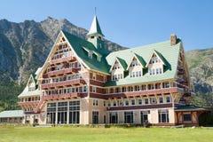 Prinz von Wales-Hotel in Waterton lizenzfreie stockbilder
