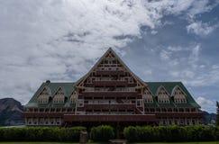 Prinz von Wales-Hotel in Waterton stockbild
