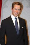 Prinz William an der Madame Tussauds lizenzfreies stockfoto