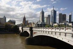 Prinzen Bridge Melbourne Stockbild