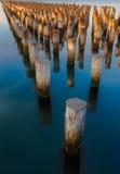 Prinzen Pier, Melbourne, Australien Stockbild