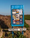 Prinzen Walk an der Botanik-Bucht in England - KENT, VEREINIGTES KÖNIGREICH - 27. FEBRUAR 2019 stockfotos