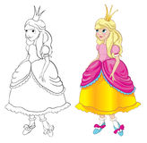 Prinzessin Stockbild