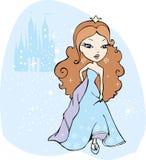 Prinzessin lizenzfreie abbildung