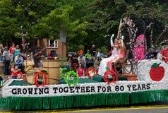 Prinzessin in der Parade stockfotografie