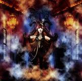 Prinzessin der Unterwelt Stockbilder