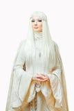 Prinzessin des Winters Stockbilder