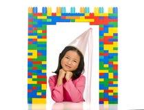 Prinzessin im Fenster Lizenzfreie Stockbilder