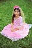 Prinzessin im Rosa Lizenzfreies Stockbild
