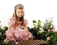 Prinzessin Making Music Lizenzfreies Stockfoto
