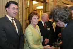 Prinzessin Margaret und Prinz Radu Lizenzfreie Stockbilder