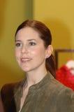PRINZESSIN MARY AT FASHION FAIR CIFF Lizenzfreie Stockfotos