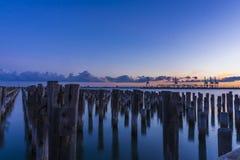 Prinzessin Pier bei Sonnenuntergang Lizenzfreie Stockfotos