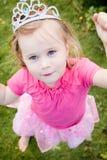 Prinzessinmädchen Lizenzfreies Stockfoto