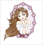 Prinzessinträume Stockbilder