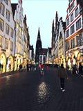 Prinzipalmarkti n Munster Stock Foto