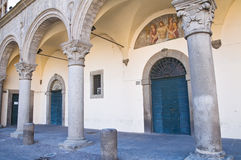 Prior palace. Viterbo. Lazio. Italy. Stock Photo