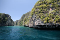 Prior to Phi Phi Island of Thailand Royalty Free Stock Images