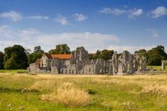 Priorato del acre del castillo en Norfolk Imagen de archivo libre de regalías