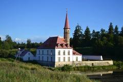 Prioratsky palace in Gatchina Stock Photos
