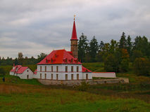 Prioratsky Palast in Gatchina Stockbilder