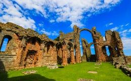Priore di Lindisfarne Fotografia Stock