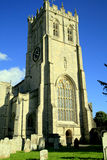 Priorijtoren, Christchurch Stock Foto