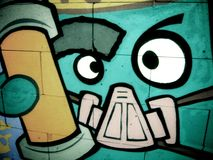 Priorità bassa 04 dei graffiti Fotografia Stock