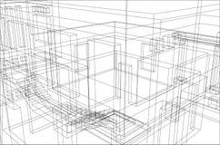 Priorità bassa 1 della costruzione Fotografia Stock
